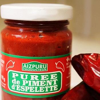 Purée piment d'Espelette
